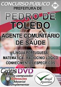 Pedro de Toledo - SP - 2017 - Apostilas Para Nível Fundamental e Médio