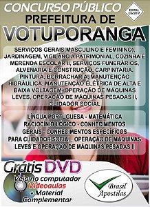Votuporanga - SP - 2017 - Apostilas Para Nível Fundamental, Médio e Técnico