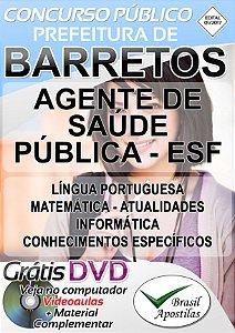 Barretos - SP - 2017 - Apostilas Para Nível Fundamental, Médio, Técnico e Superior