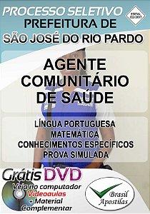 São José do Rio Pardo - SP - 2017 - Apostila Para Agente Comunitário de Saúde