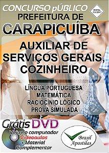 Carapicuíba - SP - 2017 - Apostila Para Nível Fundamental