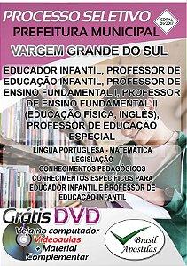 Vargem Grande do Sul - SP - 2017 - Apostila Para Professor