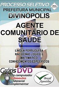 Divinópolis - MG - 2017/2018 - Apostila Para Agente Comunitário de Saúde