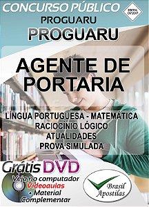 Guarulhos - PROGUARU - SP - 2017/2018 - Apostila Para Agente de Portaria