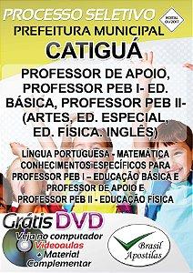 Catiguá - SP - 2017/2018 - Apostila Para Professor