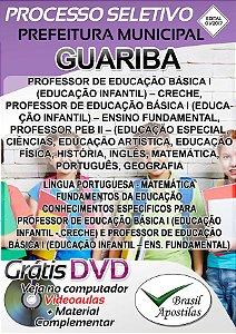 Guariba - SP - 2017/2018 - Apostila Para Professor