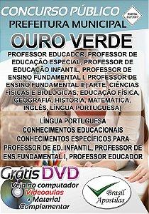 Ouro Verde - SP - 2017/2018 - Apostila Para Professor