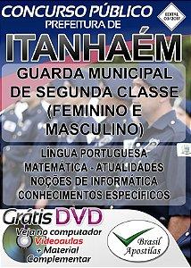 Itanhaém - SP - 2017/2018 - Apostila Para Guarda Municipal