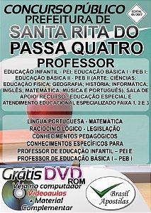 Santa Rita do Passa Quatro - SP - 2017/2018 - Apostila Para Professor