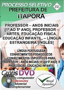 Itaporã - MS - 2017/208 - Apostila Para Professor