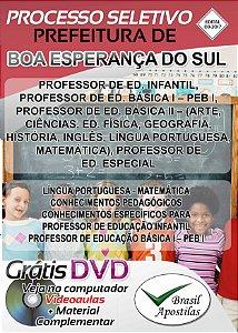Boa Esperança do Sul - SP - 2017/2018 - Apostila Para Professor