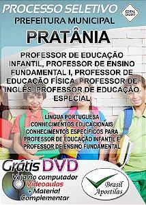 Pratânia - SP - 2017/2018 - Apostila Para Professor
