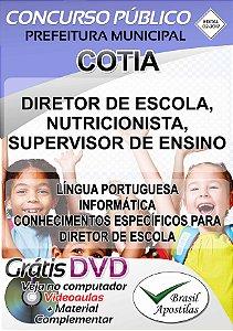 Cotia - SP - 2017/2018 - Apostilas Para Nível Superior