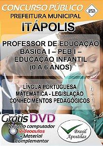 Itápolis - SP - 2017/2018 - Apostilas Para Nível Superior