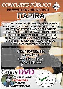 Itapira - SP - 2018 - Apostilas Para Nível Fundamental, Médio e Superior