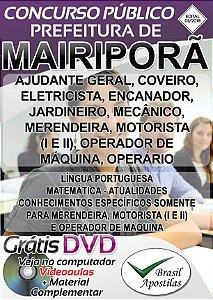 Mairiporã - SP - 2018 - Apostilas Para Nível Fundamental, Médio e Superior