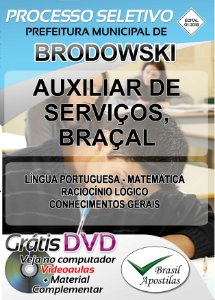 Brodowski - SP - 2018 - Apostilas Para Nível Fundamental e Superior