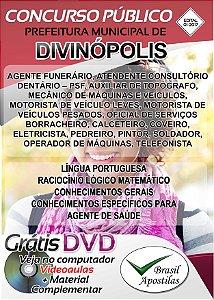 Divinópolis - MG - 2017/2018 - Apostilas Para Nível Fundamental, Médio, Técnico e Superior