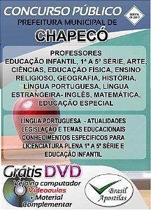Chapecó - SC - 2017/2018 - Apostila Para Professor