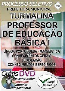 Turmalina - SP - 2018 - Apostila Para Professor de Educação Básica