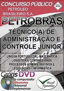 Petrobras - 2018 - Apostila Para Técnico de Administração e Controle Júnior