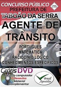 Taboão da Serra - SP - 2018 - Apostila Para Agente de Trânsito