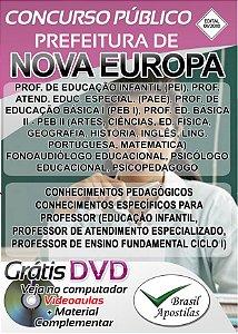 Nova Europa - SP - 2018 - Apostila Para Professores