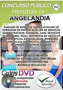 Angelândia - MG - 2018 - Apostilas Para Nível Fundamental, Médio, Técnico e Superior