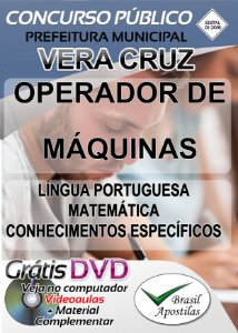 Vera Cruz - SP - 2018 - Apostilas Para Nível Fundamental e Médio