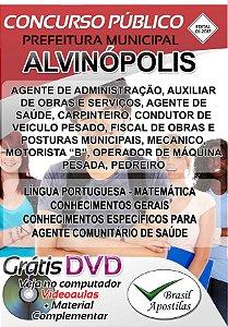 Alvinópolis - MG - 2017/2018 - Apostilas Para Nível Fundamental, Médio e Superior