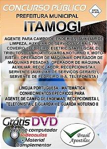Itamogi - MG - 2018 - Apostilas Para Nível Fundamental, Médio e Superior