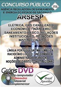 ARSESP - SP - 2018 - Apostila Para Nível Superior