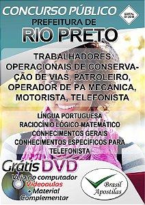 Rio Preto- MG - 2017/2018 - Apostilas Para Nível Fundamental, Médio, Técnico e Superior