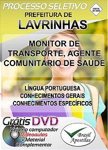 Lavrinhas - SP - 2018 -Apostilas Para Nível Fundamental, Médio, Técnico e Superior