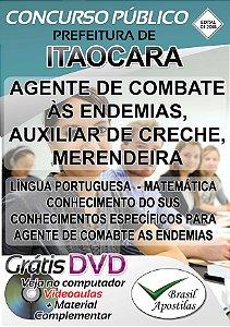 Itaocara - RJ - 2018 - Apostilas Para Nível Fundamental, Médio, Técnico e Superior