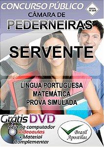 Pederneiras - SP - Câmara - 2018 - Apostilas Para Nível Fundamental, Médio e Superior