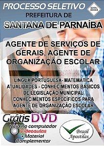 Santana de Parnaíba - SP - 2018 - Apostilas Para Nível Fundamental e Superior