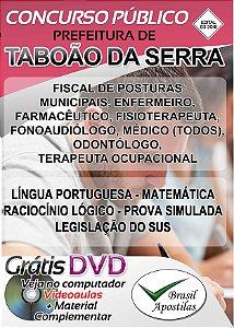 Taboão da Serra - SP - 03/2018 - Apostila Para Nível Médio e Superior