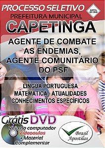 Capetinga - MG - 2018 - Apostila Para Nível Médio - VERSÃO DIGITAL