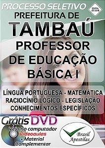 Tambaú - SP - 2018 - Apostila Para Professor de Educação Básica I