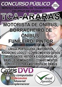 Araras - SP - TCA - 2018 - Apostila Para Nível Fundamental