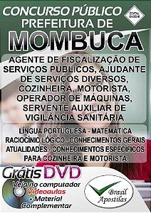 Mombuca - SP - 2018 - Apostilas Para Nível Fundamental e Médio