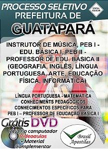 Guatapará - SP - 2018 - Apostila Para Nível Médio e Superior
