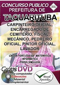 Taquarituba - SP - 2018 - Apostilas Para Nível Fundamental, Médio e Superior