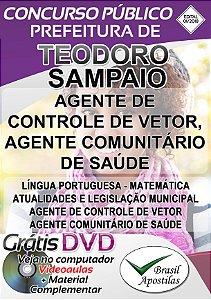 Teodoro Sampaio - SP - 2018 - Apostila Para Nível Fundamental