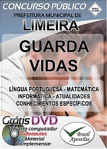 Limeira - SP - 2018 - Apostila Para Guarda Vidas
