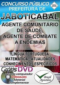 Jaboticabal - SP - 2018 - Apostila Para Nível Médio