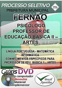 Fernão - SP - 2018 - Apostila Para Nível Superior