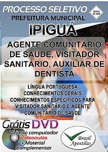 Ipiguá - SP - 2018 - Apostila Para Nível Médio e Técnico