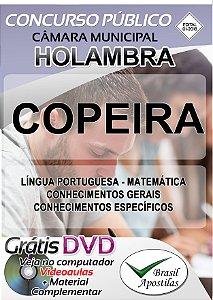 Holambra - SP - Câmara - 2018 - Apostilas Para Nível Fundamental e Médio